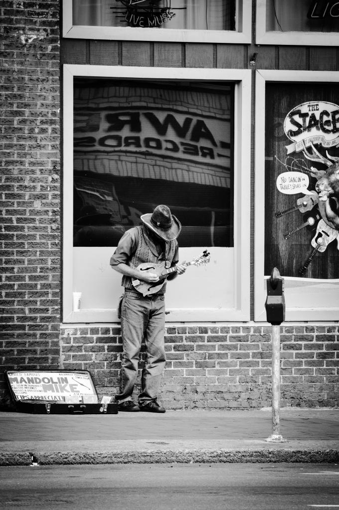 Nashville Busker