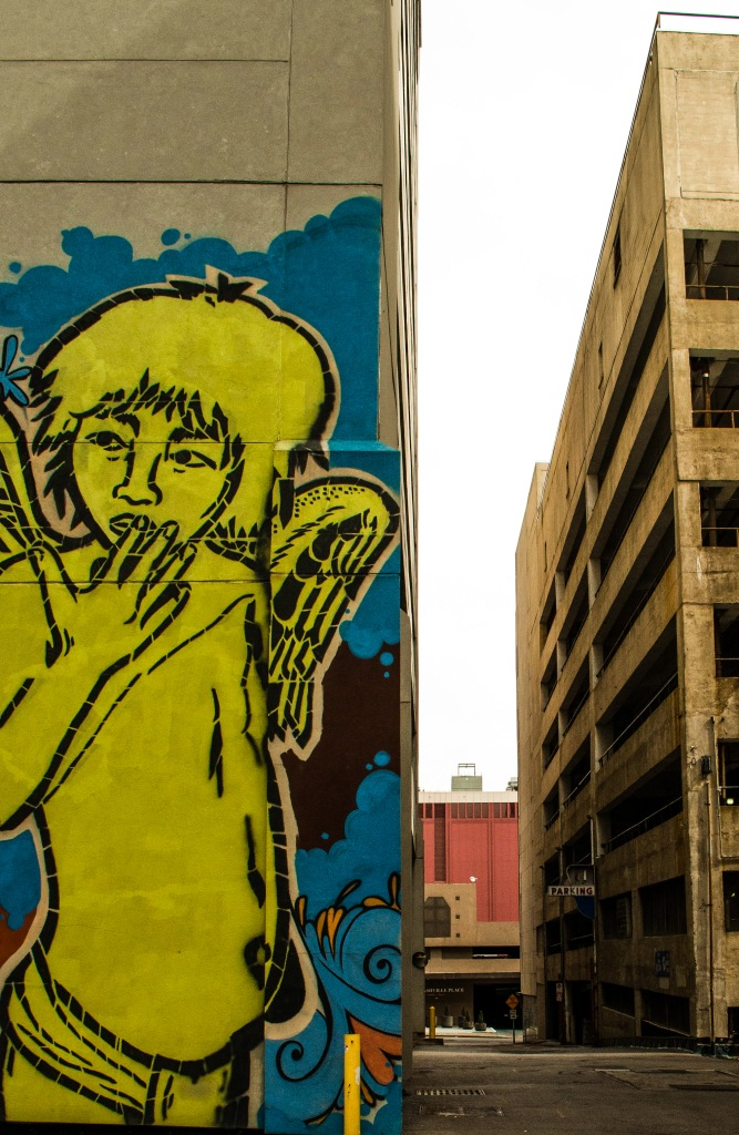 Mural in downtown Nashviille.